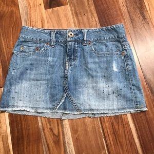 American Eagle jean skirt. Sz 0